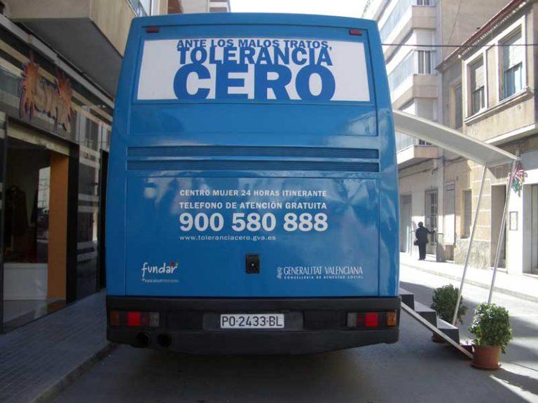CAMPAÑA «CONTRA LOS MALOS TRATOS, TOLERANCIA CERO»