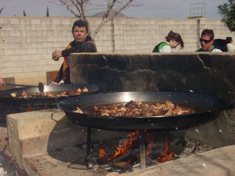 Convivencia festera en Mozárabes y Beduinos.