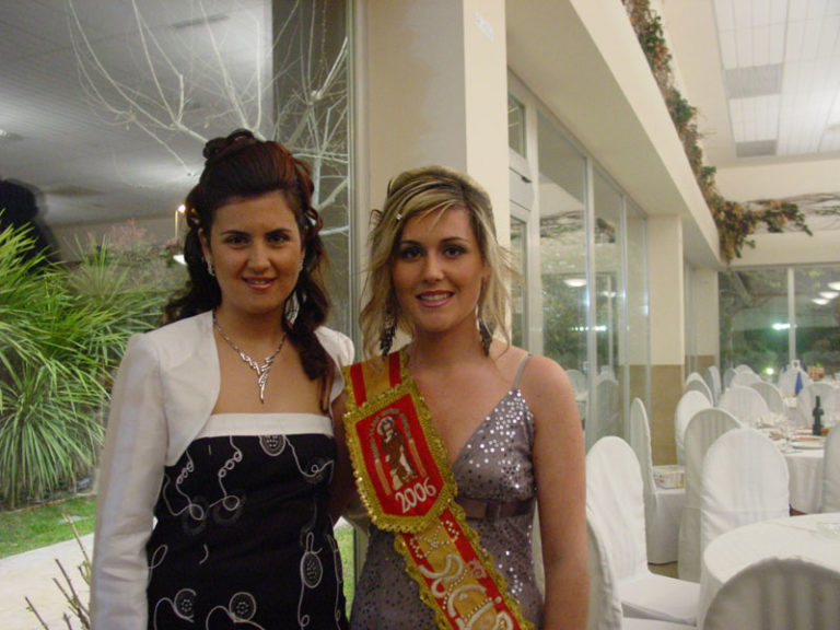 Presentación de las bellezas de San Roque 2007