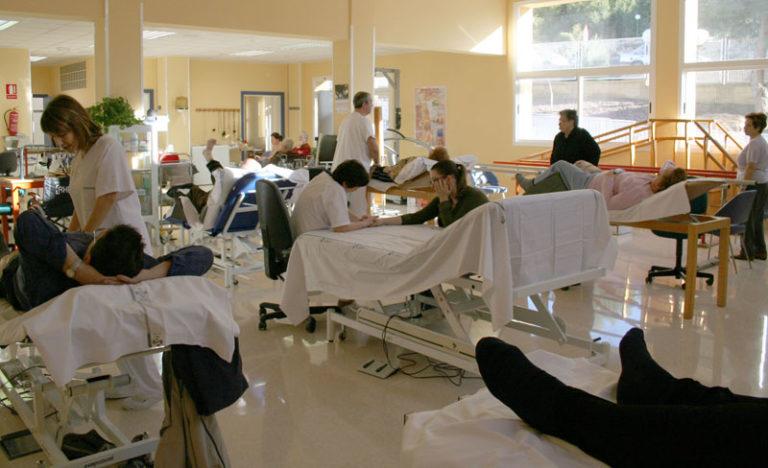 El servicio de rehabilitación del Hospital de Elda extiende sus servicios al Centro Sanitario de Novelda