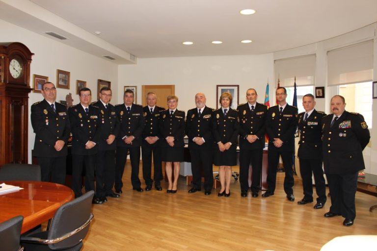 Seis nuevos comisarios de Policía Nacional se incorporan en la Comunitat Valenciana