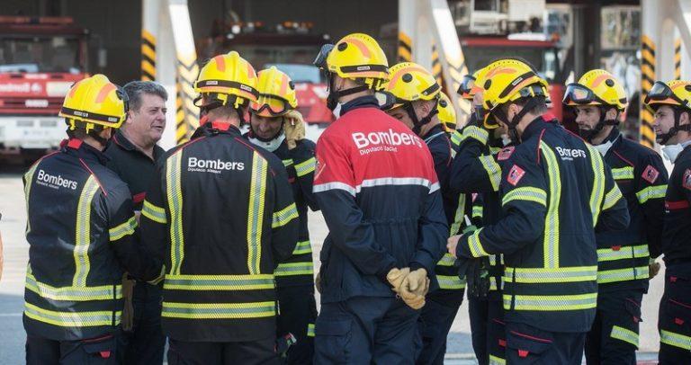 Los bomberos del Consorcio Provincial de Alicante realizaron en 2019 un total de 10.618 intervenciones