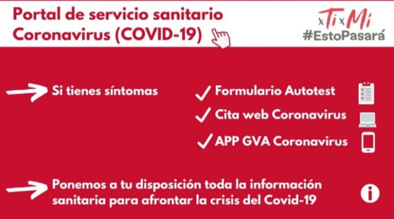 La Comunitat Valenciana suma 789 nuevos casos positivos desde la última actualización