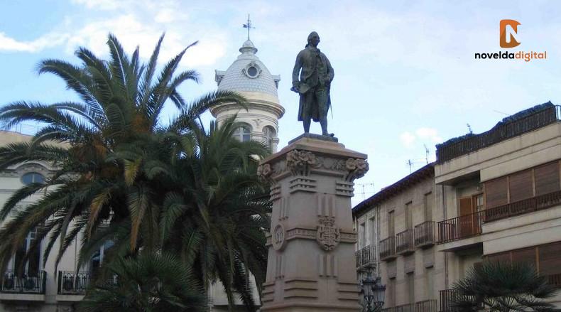 Jorge Juan y Santacilia - Plaza de España - Novelda