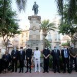 Homenaje muerte Jorge Juan y Santacilia 2020