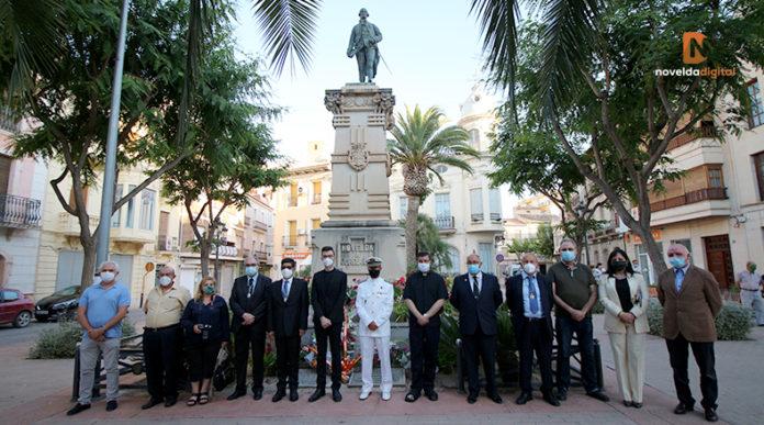 Homenaje muerte Jorge Juan y Santacilia
