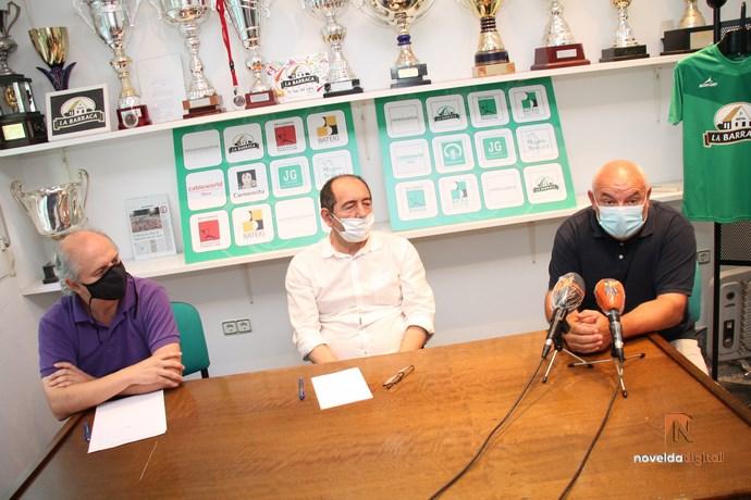 El Novelda CF lanza su nuevo proyecto de fútbol base