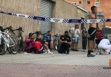 Atropello ciclistas calle Cura González - Novelda