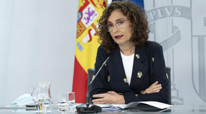 Ministra de Hacienda y portavoz del Gobierno, María Jesús Montero