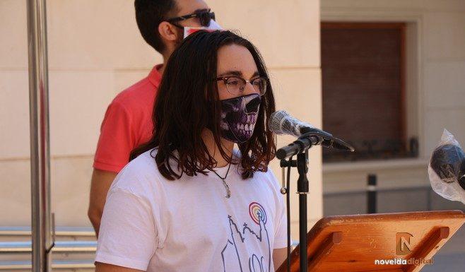 David Castillo   Presidente del Colectivo LGTBIQ+ de Novelda