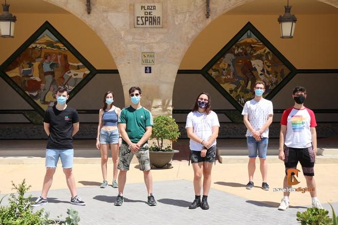 Miembros del Colectivo LGTBIQ+ de Novelda