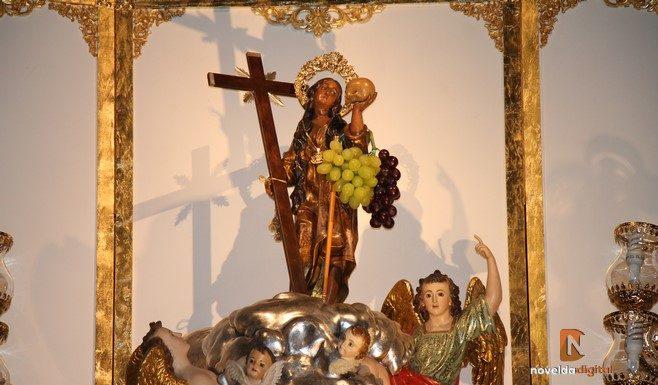 Santa María Magdalena en el altar de San Pedro
