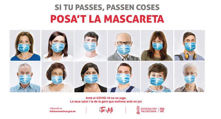 La Comunitat Valenciana registra 892 nuevos casos de coronavirus y 706 altas en la última jornada
