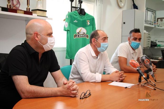 El Novelda CF presenta al cuerpo técnico del primer equipo