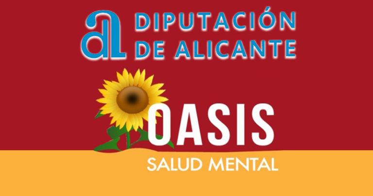 La Diputación de Alicante subvenciona con casi 2.000 euros a Oasis Salud Mental
