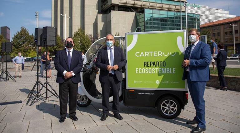 Vectalia participa en el nuevo proyecto piloto de «Carteroo» reparto ecosostenible