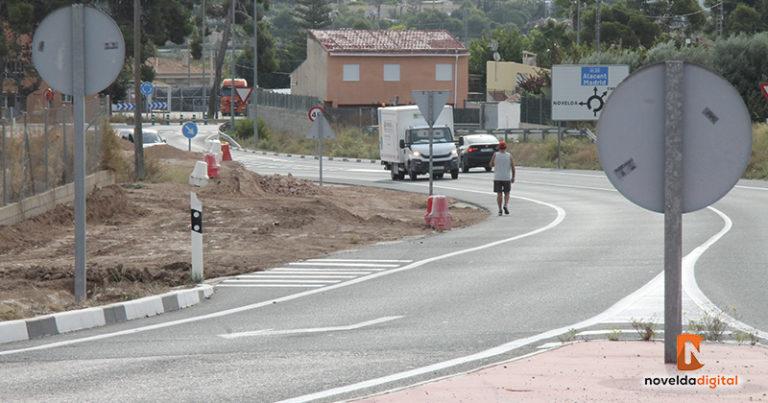 La tercera fase de las obras de la avenida Cura González dará continuidad al carril ciclo peatonal de la ronda Sur