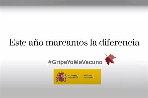 El Ministerio de Sanidad lanza la campaña 'Yo me vacuno. Este año marco la diferencia' para reforzar la vacunación frente a la gripe