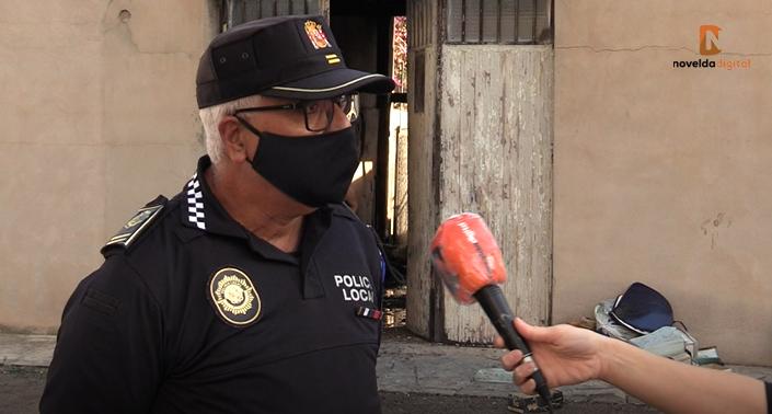 Incendio sin daños personales en la calle Gregorio Marañón