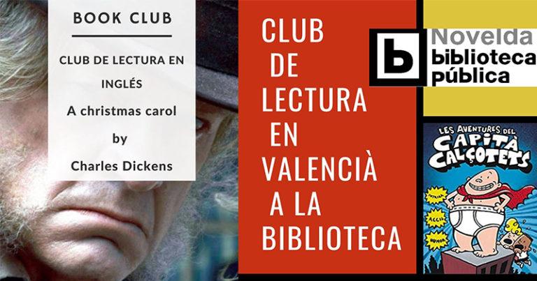 Esta tarde, club de lectura en inglés, y mañana en valenciano en la Ludoteca Municipal