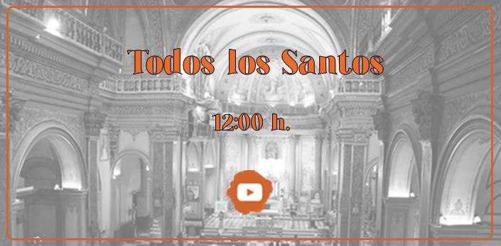 La Iglesia de San Pedro acogerá la Misa de Todos los Santos