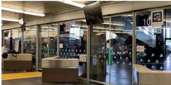 Adif instalará monitores para informar al viajero de la colocación de los coches de los trenes en el andén de las estaciones