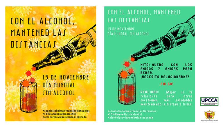 """El Ayuntamiento se adhiere a la campaña de sensibilización frente al consumo abusivo del alcohol """"Con el alcohol, mantened las distancias"""""""