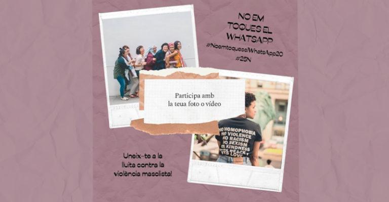 EL IVAJ inicia un concurso en redes para seleccionar fotos, mensajes y vídeos para la exposición #NoemtoqueselWhatsApp