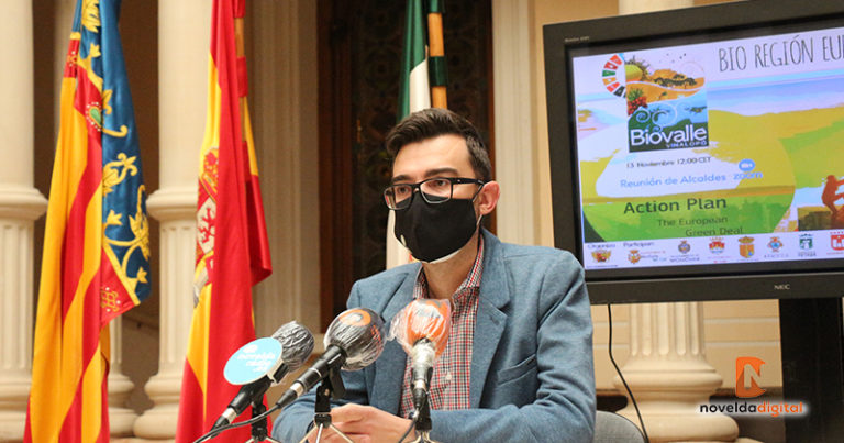 Novelda presenta el Bio Valle del Vinalopó para poder optar a ayudas europeas