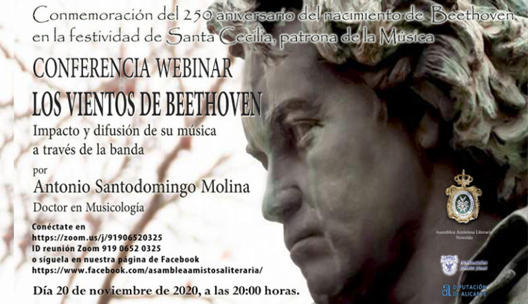 La Asamblea Amistosa Literaria conmemora a Beethoven en la festividad de Santa Cecilia
