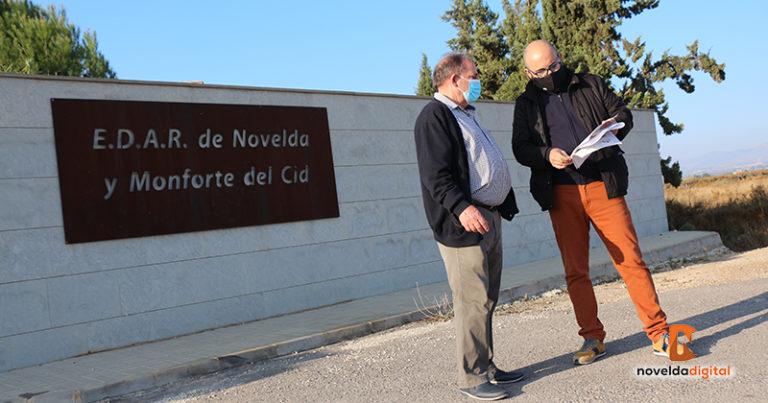 Novelda y Monforte del Cid asumen el pago de los intereses de demora y apremios impuestos a la EDAR en los últimos 4 años