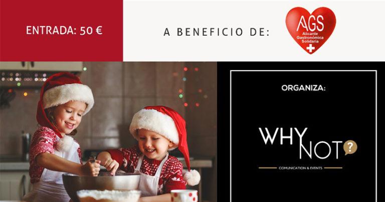 """La III Gala """"Una Infancia por Navidad"""" se celebrará a beneficio de Alicante Gastronómica Solidaria"""