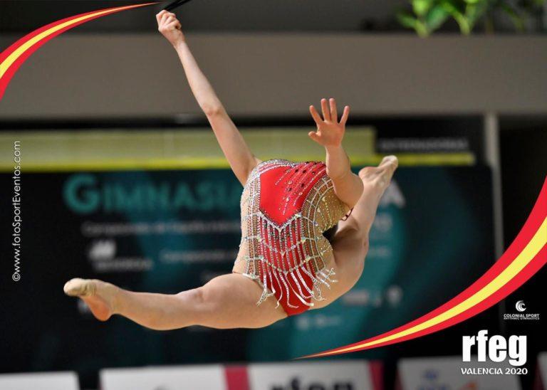 Carla Rodríguez Escolano, 8ª de la categoría cuerda en el Campeonato De España por Equipos