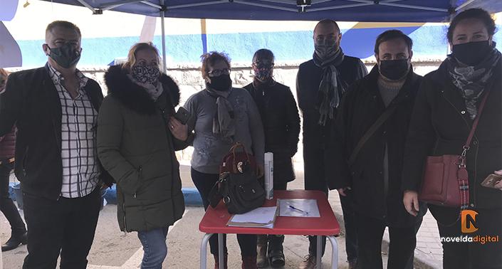 El Partido Popular de Novelda recaba firmas contra la Ley Celaá