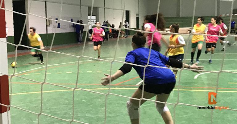 Novelda acoge un entrenamiento de la Selección Valenciana de Fútbol Sala Femenino Sub-16 y Sub-19