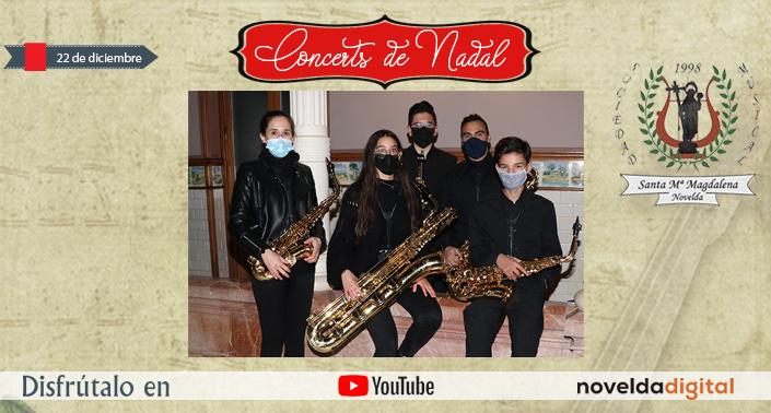 Quinteto de Saxos en la Casa Museo Modernista