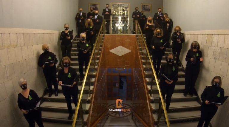 Concierto del Orfeón Noveldense Solidaridad en el Casino de Novelda