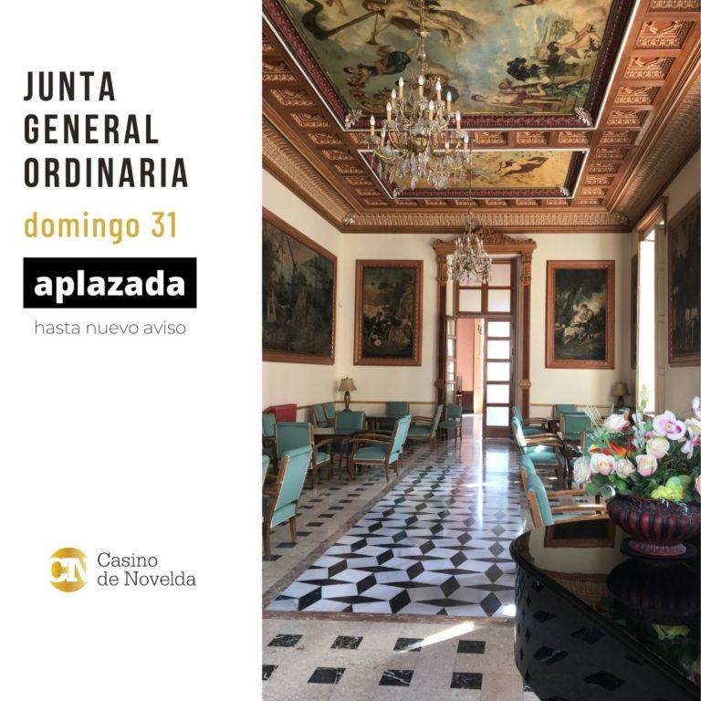 El Casino suspende su Junta General Ordinaria