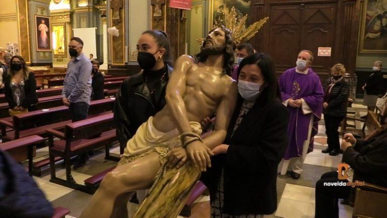 Atípico y emotivo traslado de las imágenes de La Flagelación
