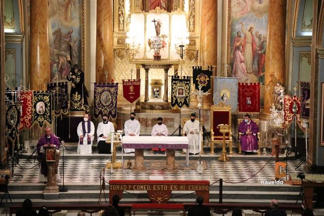 Antonio Alcolea proclama la exaltación de la Semana Santa noveldense