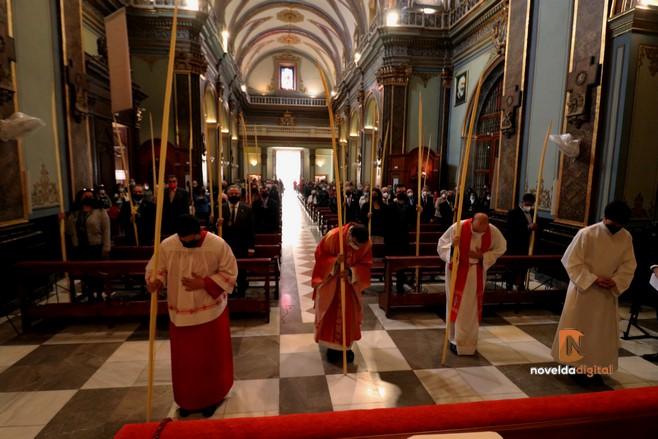 Este año la bendición de las Palmas  también da inicio al Domingo de Ramos