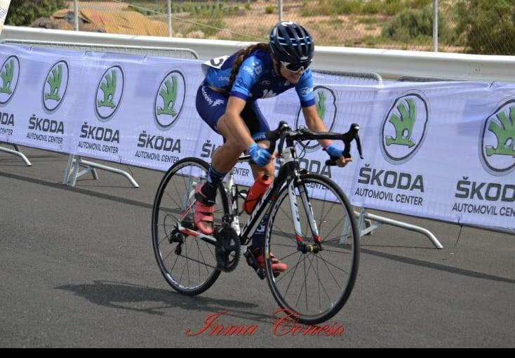 Nº 169) Sofía Sánchez Serrano (ciclista).-