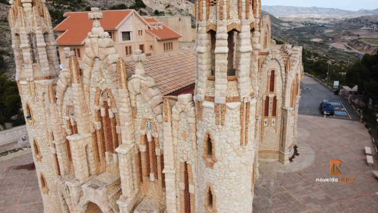 Obras de consolidación para el Santuario de Santa María Magdalena