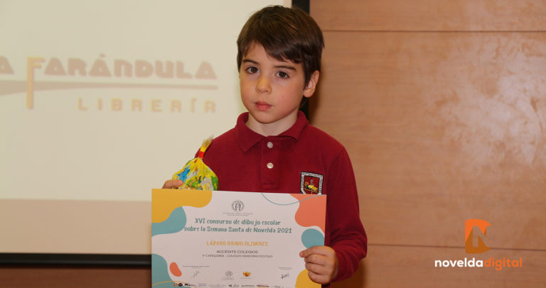 Entrega de premios del XVI Concurso de Dibujo de la Semana Santa de Novelda 2021