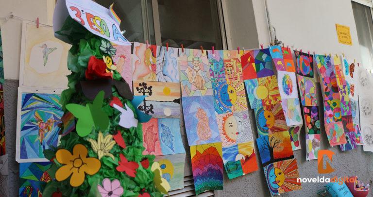 El Padre Dehon celebra el Día del Arte con exposiciones artísticas y actuaciones de los propios alumnos