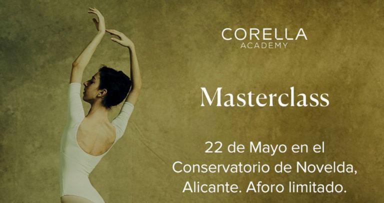 El Conservatorio de Danza ofrece una máster class impartida por Carmen Corella