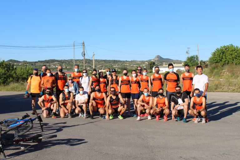 El Club Atletismo Cableworld participa en un entreno de Media Maratón