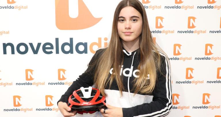 La ciclista noveldense Leyre Toledo ha sido elegida para formar parte de la Selección Autonómica en el Campeonato de España Escolar de ciclismo