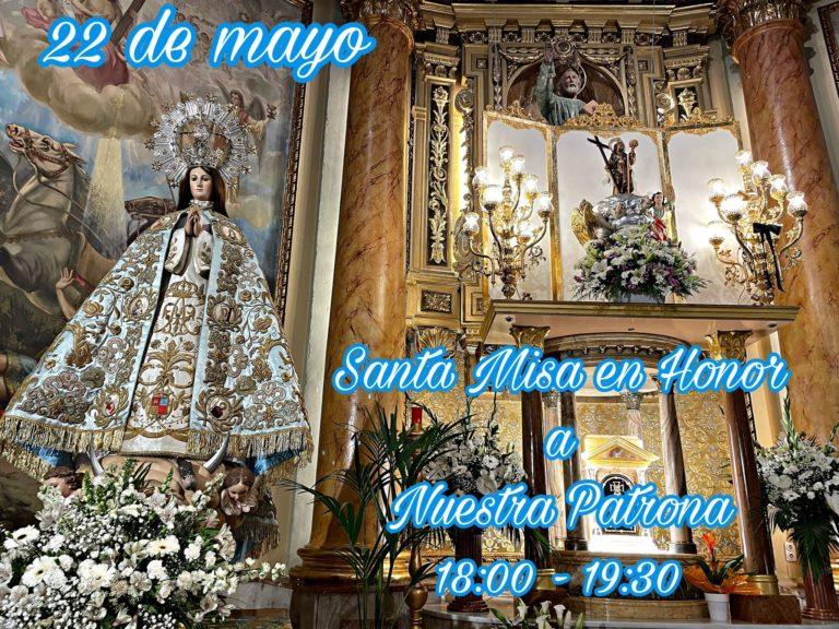Solemne Misa en honor a Santa María Magdalena