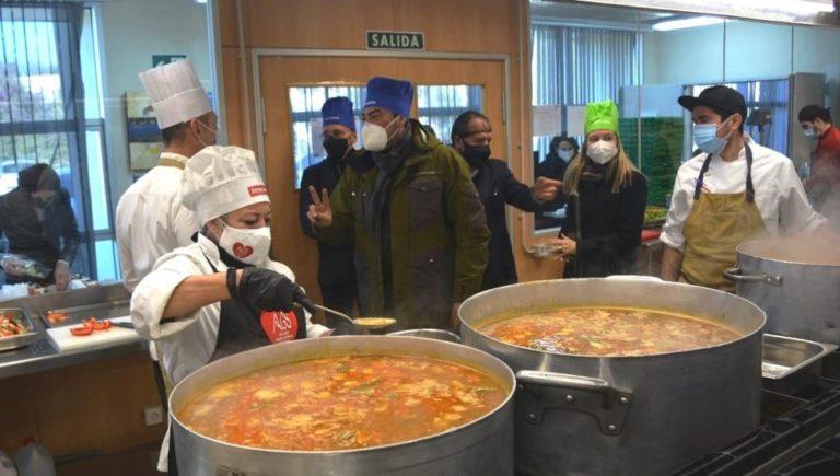 Alicante Gastronómica Solidaria ofrece al Gobierno sus medios humanos y materiales para colaborar en la solución de la crisis migratoria producida en Ceuta